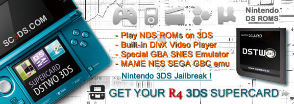 r4 3ds rom card